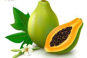 没熟的木瓜可以吃吗,木瓜没熟能吃吗,木瓜没熟如何吃缩略图