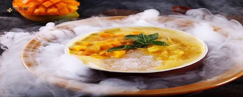 椰子汁芒果西米露如何做,西米露熬成哪些才算熟缩略图