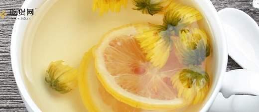 黄菊花和青柠檬能够一起煮茶吗,青柠檬菊花泡水的作用缩略图