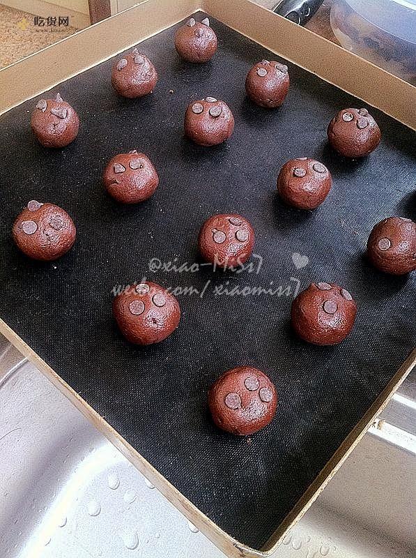巧克力豆曲奇(Chocolate Chip Cookies)的做法 步骤10