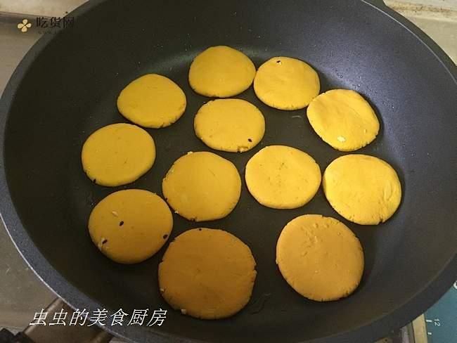 软软糯糯南瓜饼的做法 步骤10