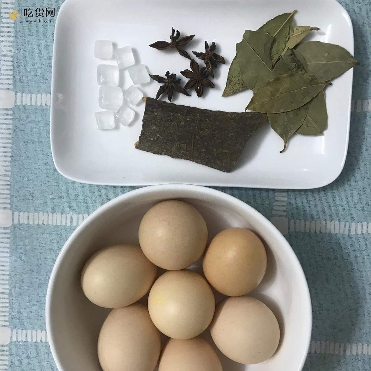 懒人茶叶蛋超简单做法40分钟搞定茶叶蛋的做法 步骤1