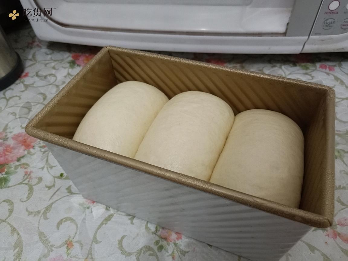 超奶重奶酪吐司——/重芝士吐司/ 消耗奶油奶酪,爆发超级棒!的做法 步骤6