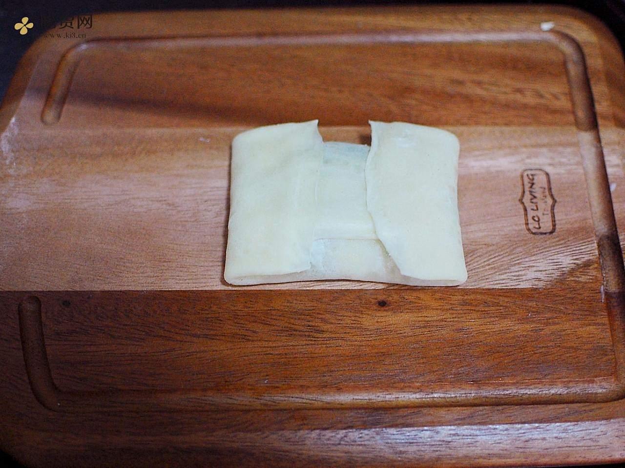 懒人菜盒子(不揉面、不擀面)的做法 步骤14