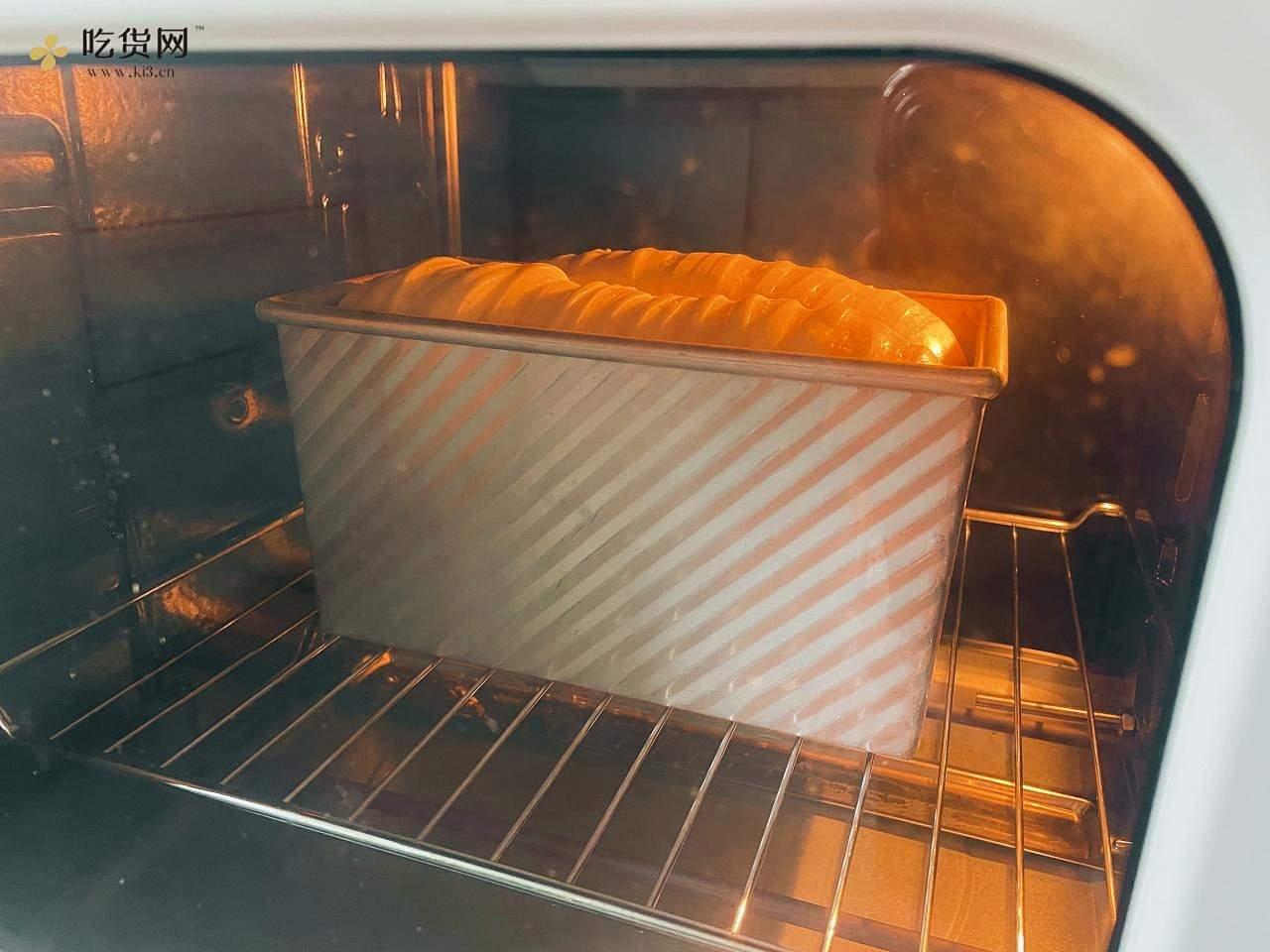 油管爆火?毛线球吐司~1次发酵,超柔软的做法 步骤10