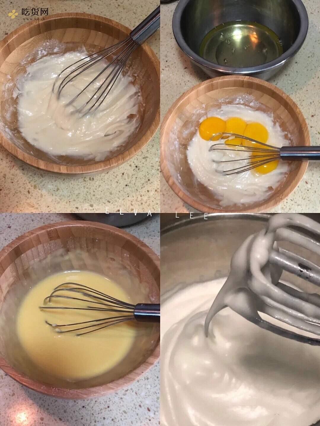 低糖低油红丝绒旋风蛋糕卷的做法 步骤2