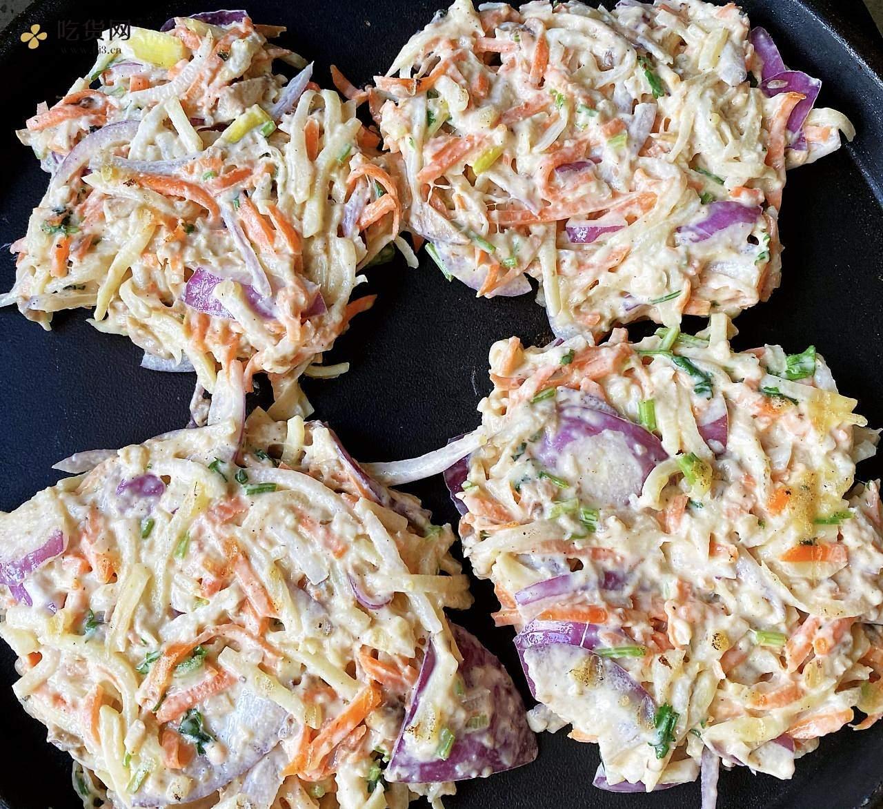 蔬菜饼的做法 步骤2
