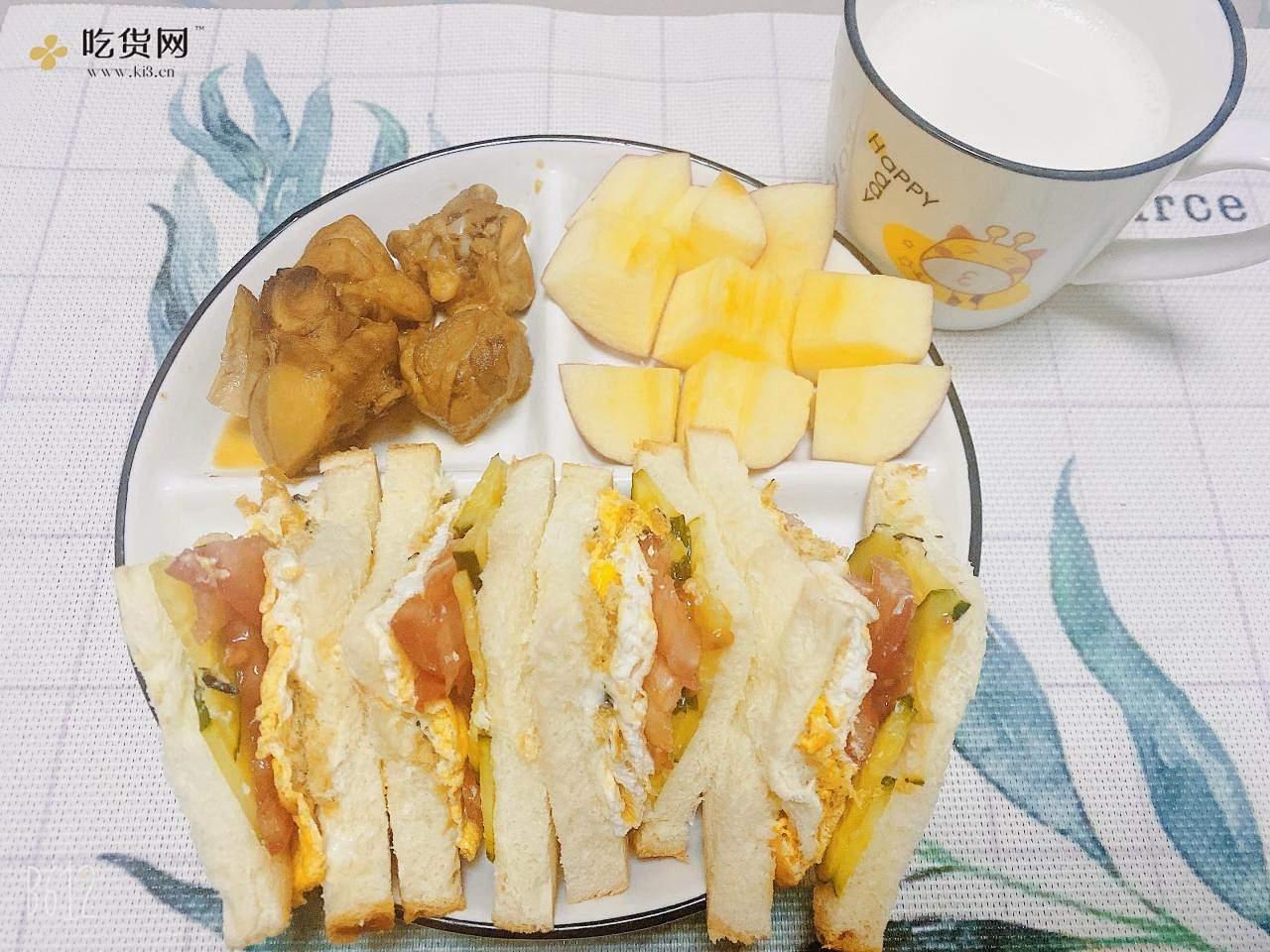 小学生早餐续更的做法 步骤10
