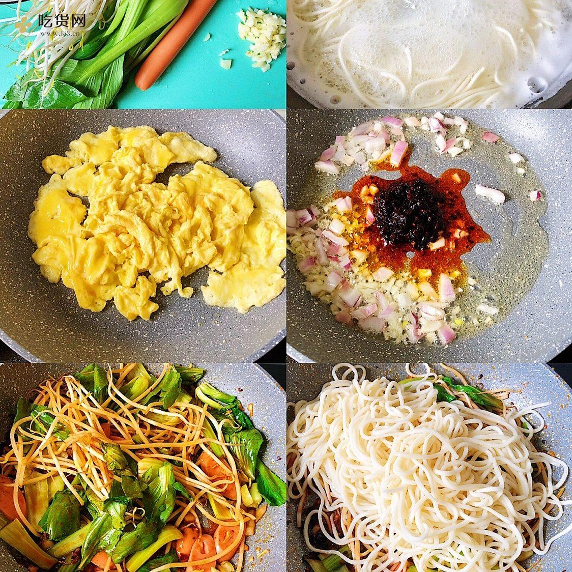 ?最简单最好吃的家常炒面的做法 步骤2
