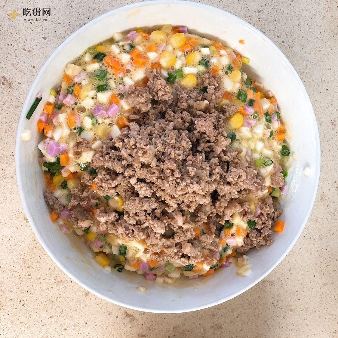 山药饼(不爱吃山药的都?️)的做法 步骤4