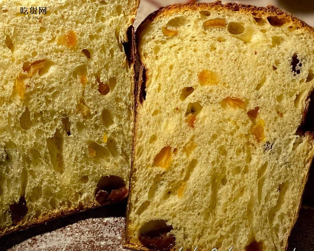 潘娜托尼 圣诞面包           Panettone(中种法)的做法 步骤22