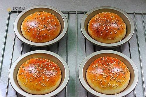 肯德基早餐汉堡轻松在家做 ---『玉米鸡肉汉堡包』的做法 步骤10