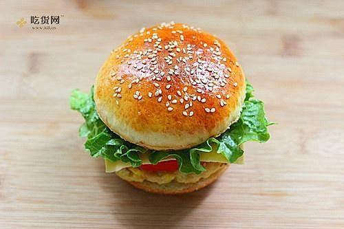 肯德基早餐汉堡轻松在家做 ---『玉米鸡肉汉堡包』的做法 步骤20