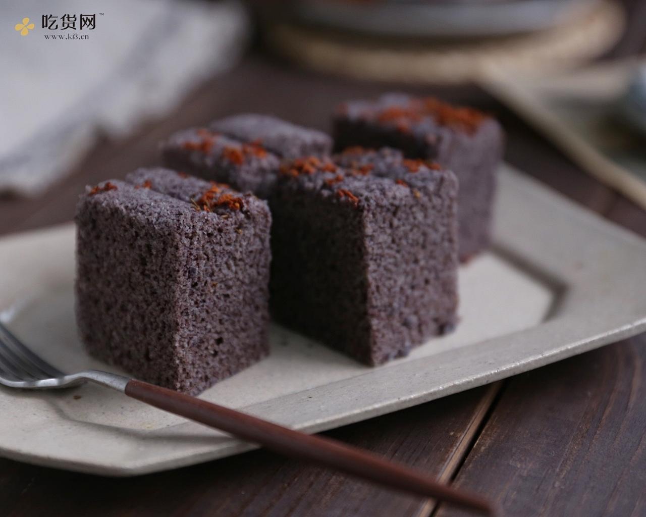 黑米糕的做法 步骤6