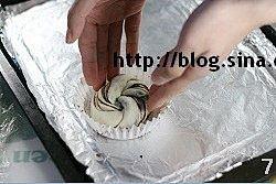 豆沙卷面包的做法 步骤7