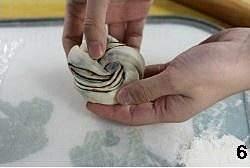 豆沙卷面包的做法 步骤6