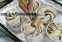 豆沙卷面包的做法 步骤8