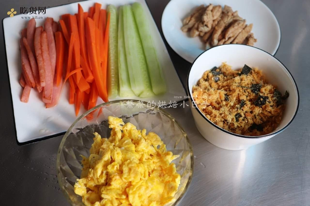【紫米饭团】 健康减脂 快手早餐的做法 步骤6