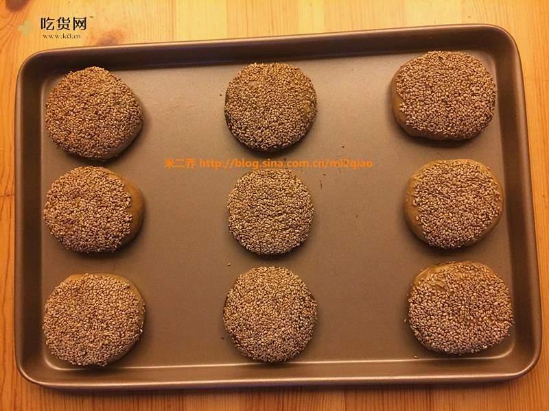 麻酱烧饼(独家原创)的做法 步骤14