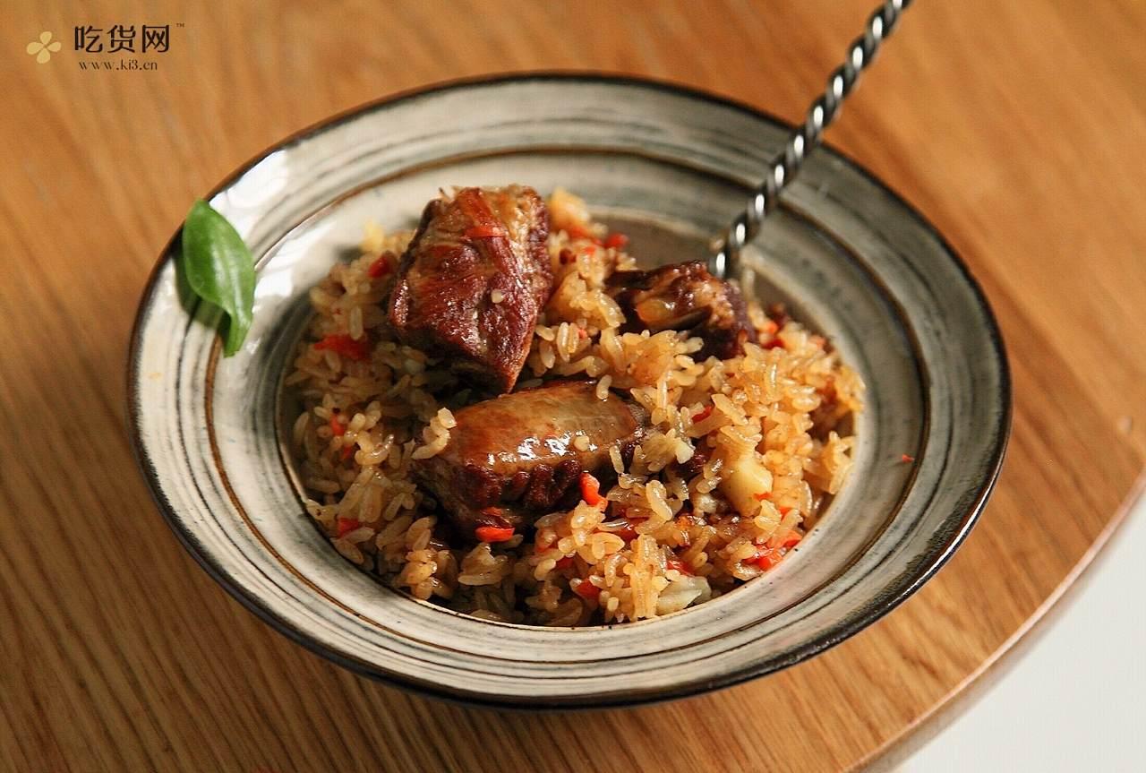 红烧排骨焖饭的做法 步骤1