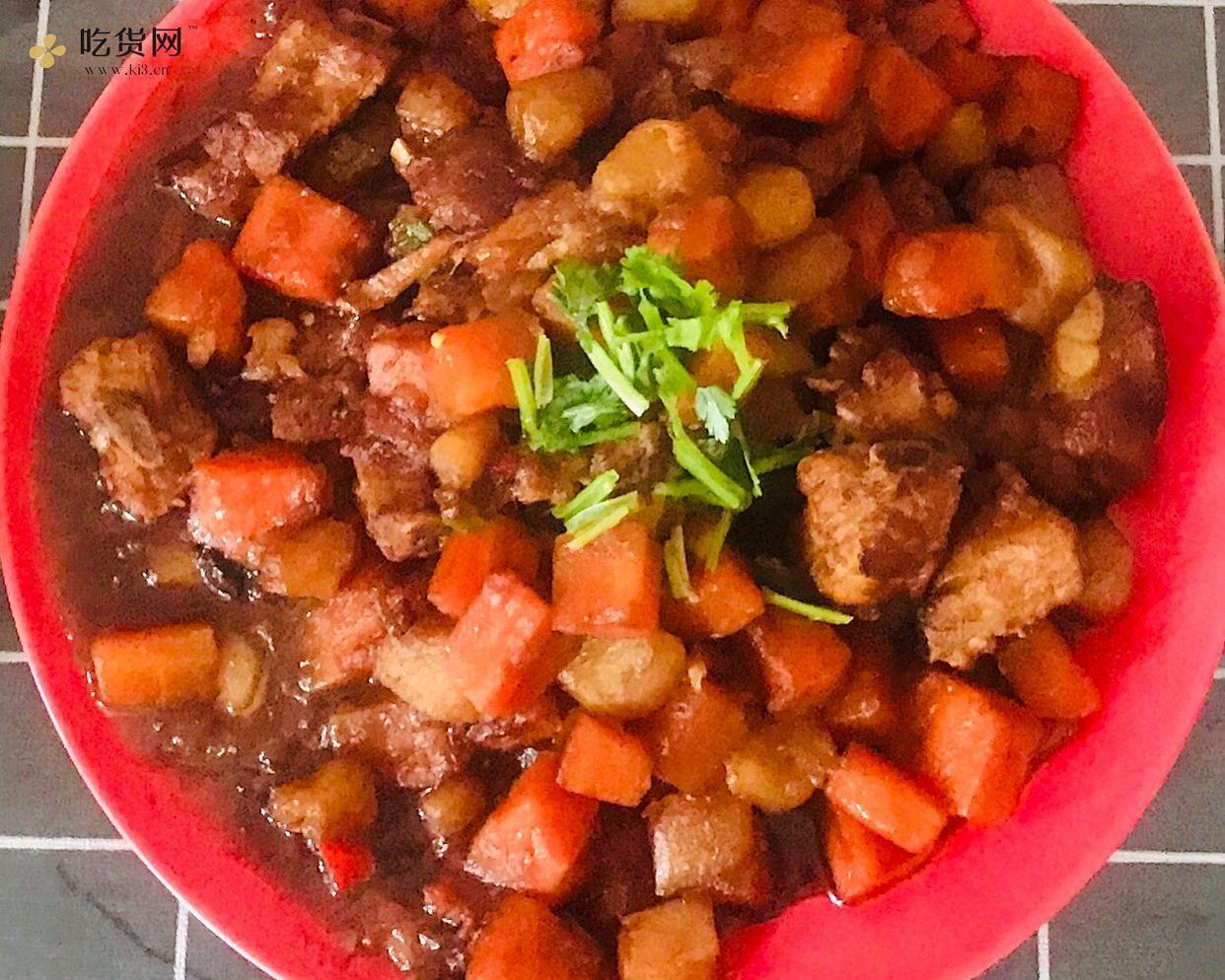 红烧排骨 土豆胡萝卜的做法 步骤8