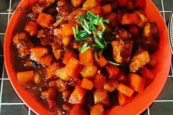 红烧排骨+土豆胡萝卜的做法步骤图插图
