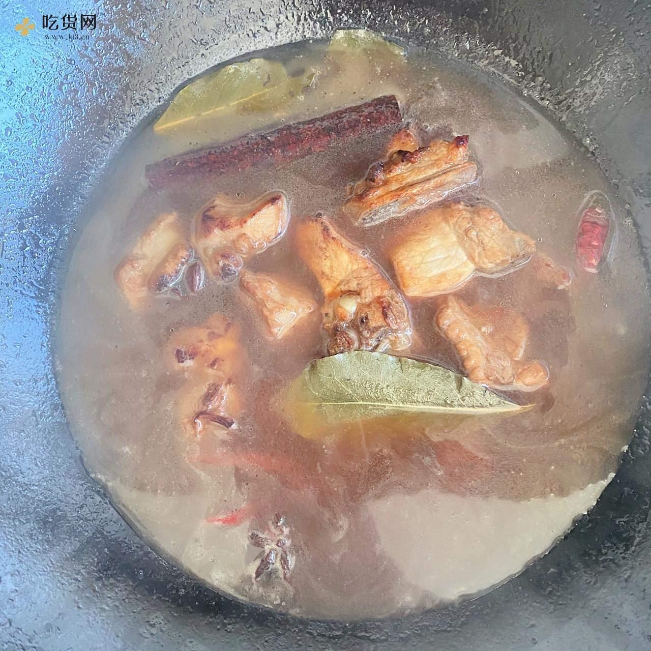 红烧排骨炖土豆🥔的做法 步骤7