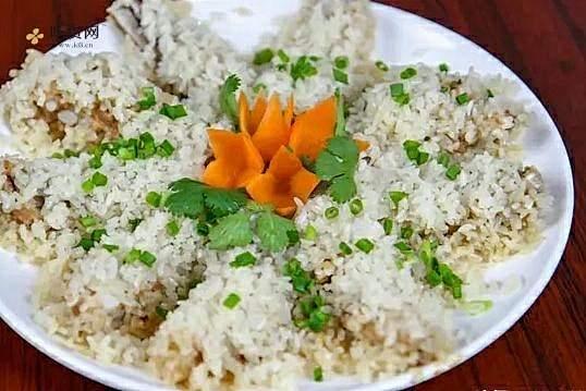 厨师长教你糯米蒸排骨做法,排骨最简单入味的做法,比红烧要营养的做法步骤图缩略图