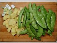 红烧排骨炖豆角土豆的做法 步骤5