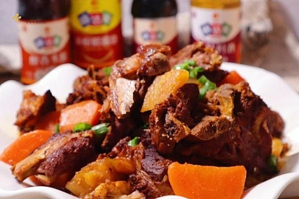 巨好吃的红烧排骨土豆❗️(砂锅慢炖就是香)的做法步骤图缩略图