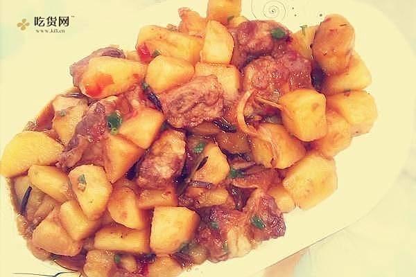 红烧土豆排骨的做法步骤图,怎么做好吃缩略图
