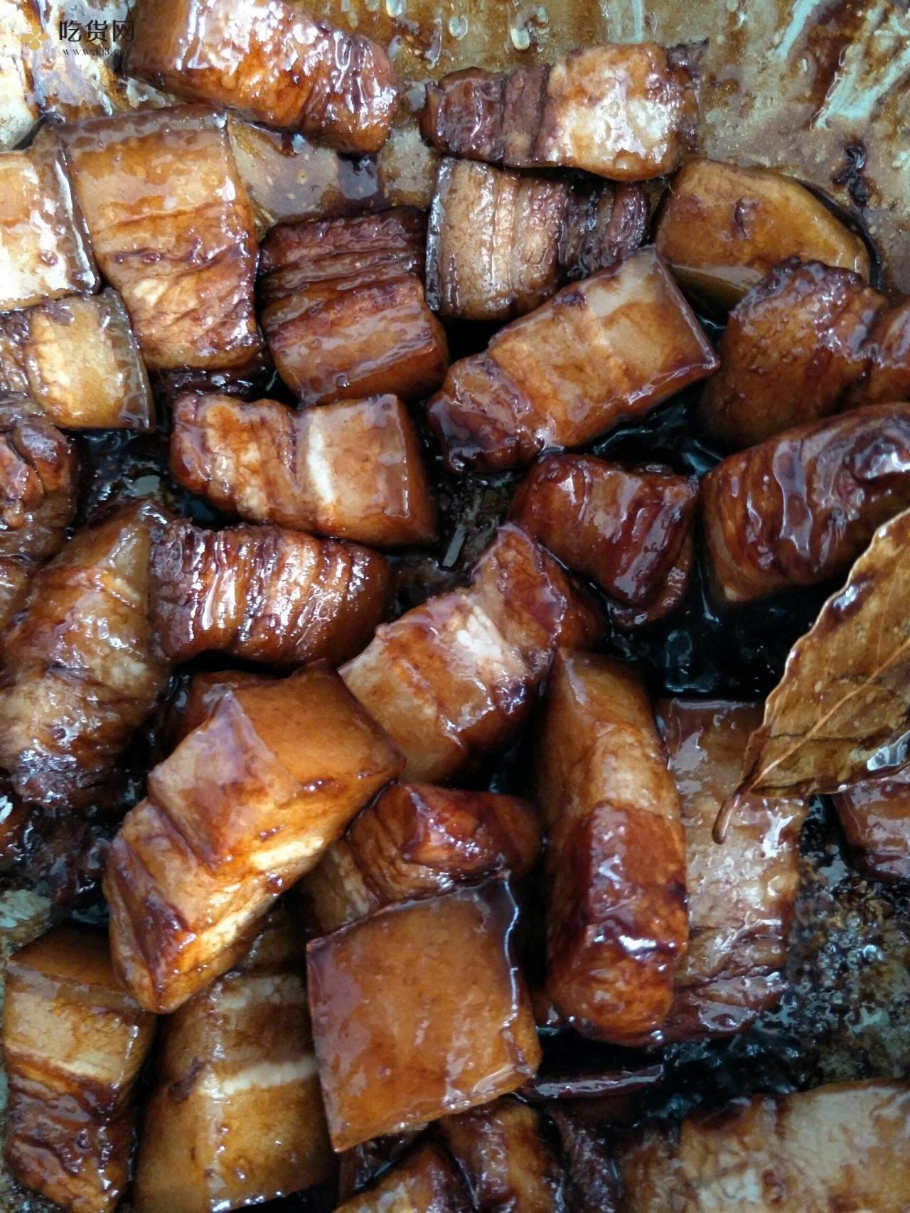 不用焯水不放料酒的红烧土猪肉(排骨)的做法 步骤3
