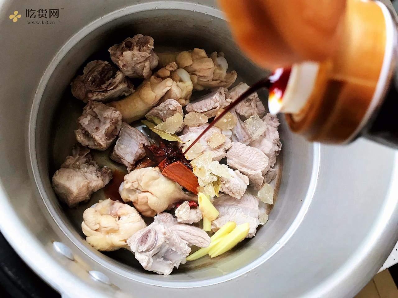 红烧排骨鸡翅根(高压锅懒人版)的做法 步骤11
