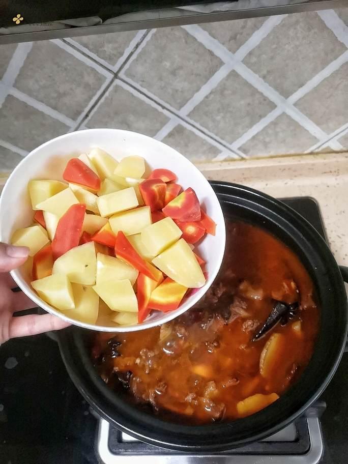 川味红烧牛肉(香菇烧鸡、红烧排骨等川味烧菜通用菜谱)的做法 步骤13