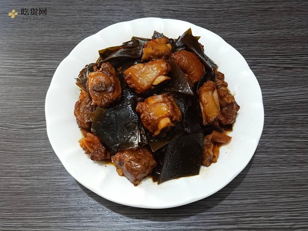 红烧排骨烩海带|马克西母不粘锅的做法 步骤20