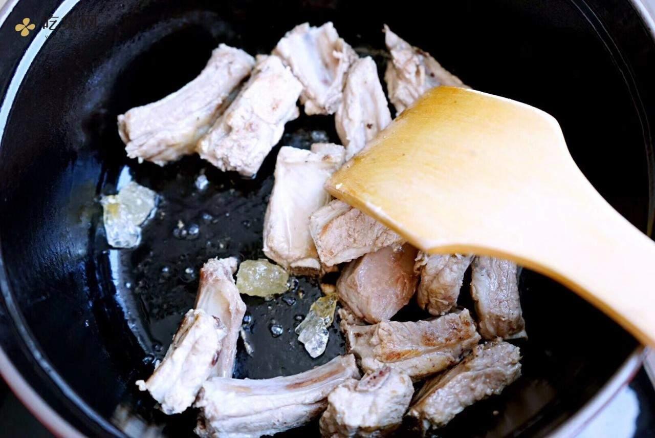 红烧排骨-staub铸铁锅版的做法 步骤4
