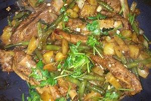 红烧排骨豆角土豆的做法步骤图,怎么做好吃缩略图