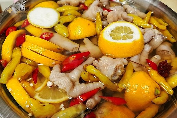 超好吃的柠檬🍋泡椒凤爪的做法步骤图缩略图