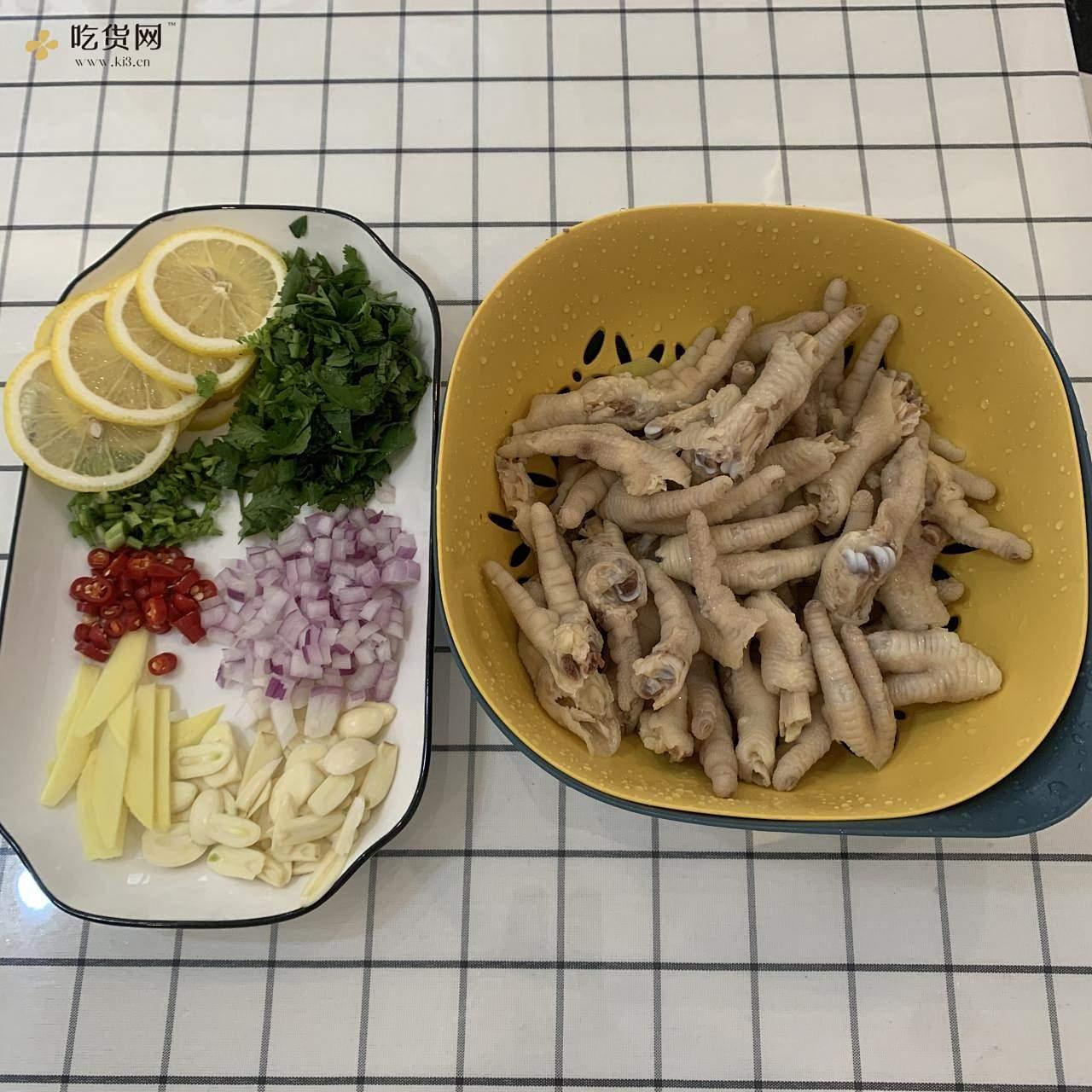 酸辣开胃小吃🍋柠檬鸡爪🍋💯零基础教程的做法 步骤5