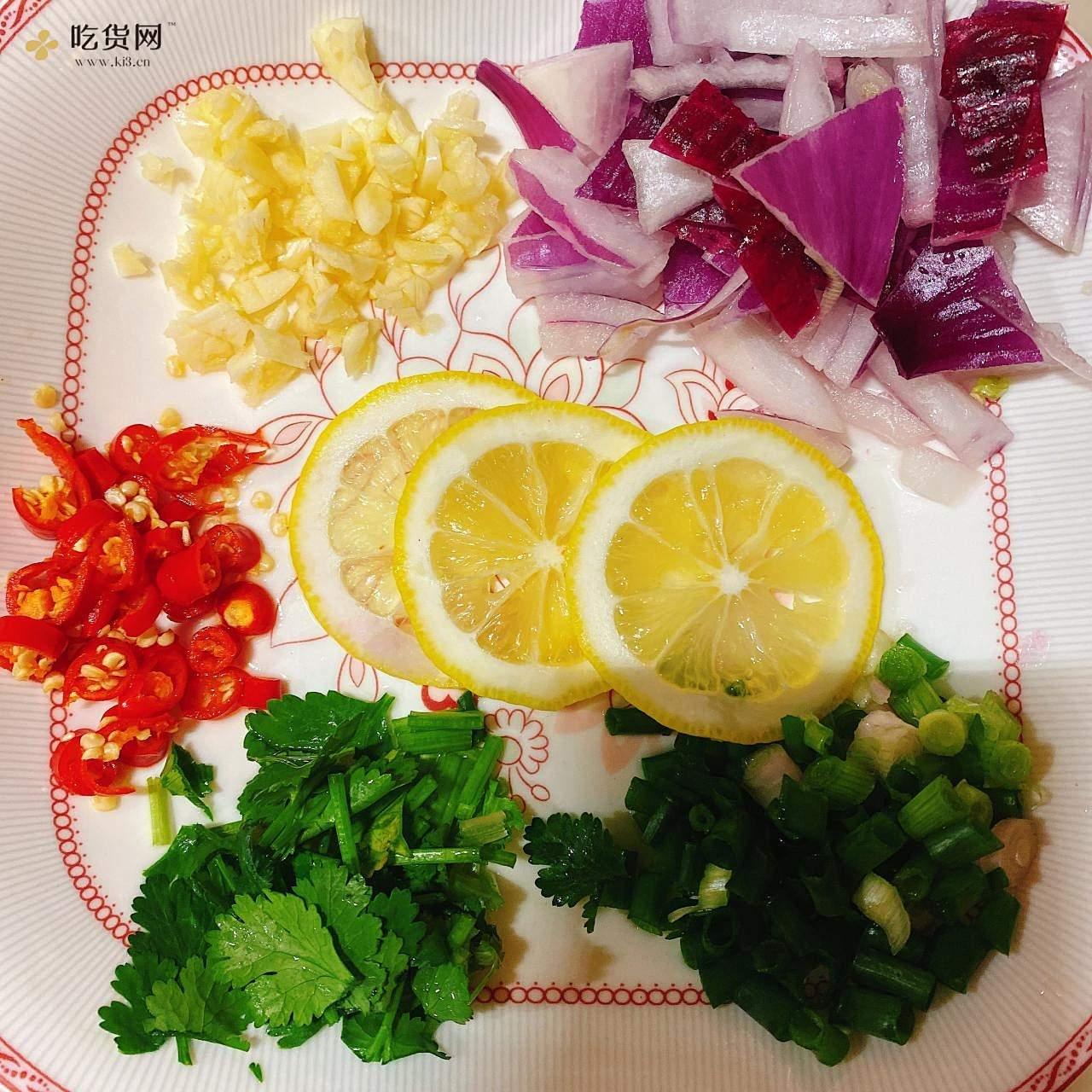 网红鸡爪🍋(柠檬酸辣鸡爪--零失败)的做法 步骤5