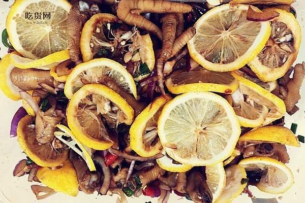 网红柠檬🍋辣椒🌶️酸辣鸡爪凤爪的做法步骤图插图