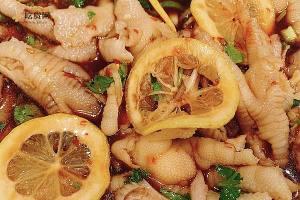 鸡爪的N种吃法之一:甜辣柠檬无骨鸡爪的做法步骤图缩略图