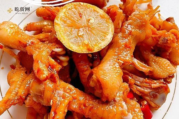 下酒菜柠檬🍋鸡爪的做法步骤图,怎么做好吃缩略图