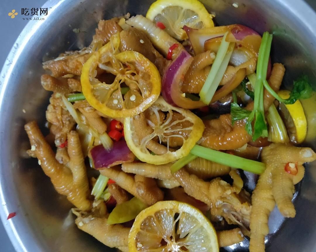 🍊柠檬鸡爪专撩你的胃😋🍺的做法 步骤6