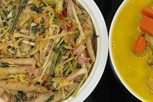 很泰式的香茅柠檬🍋鸡爪的做法步骤图缩略图