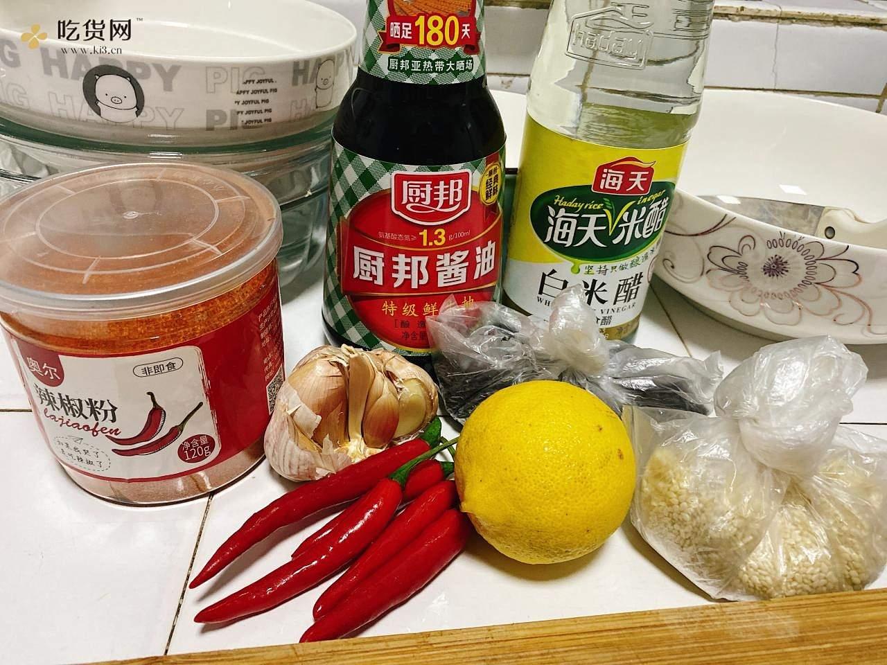 柠檬🍋酸辣鸡爪的做法 步骤1