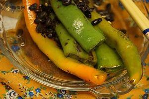 豆豉虎皮尖椒的做法步骤图,怎么做好吃缩略图