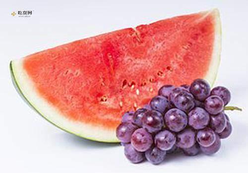 红提和西瓜能一起吃吗,吃完红提可以吃西瓜吗缩略图