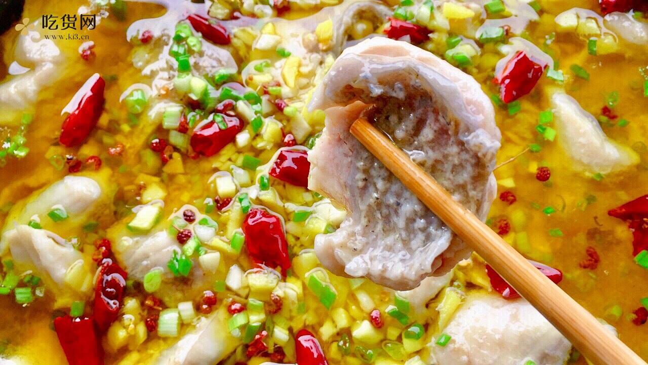 【创意小厨娘】好吃不上火的川味酸菜鱼,汤汁酸香开胃,鱼肉细嫩爽滑。的做法 步骤18
