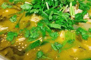 小美浓汤酸菜鱼的做法步骤图,怎么做好吃缩略图